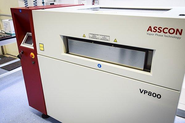 Forno vapor phase per circuiti elettronici